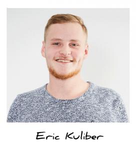 Eric, Auszubildender Industriemechaniker