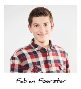 Fabian, Auszubildender Medientechnologe Tiefdruck