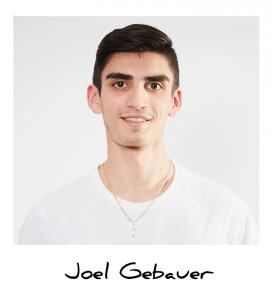 Joel, Auszubildender Medientechnologe Siebdruck