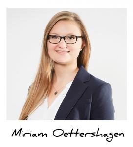 Miriam, Auszubildende Industriekauffrau