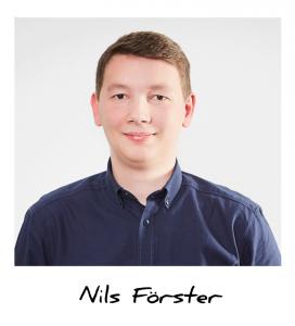 Nils, Auszubildender Industriekaufmann