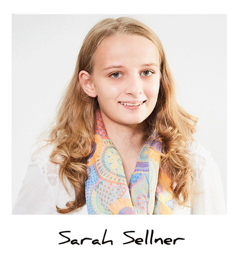 Sarah, Auszubildende Fachinformatikerin bei A.S. Création
