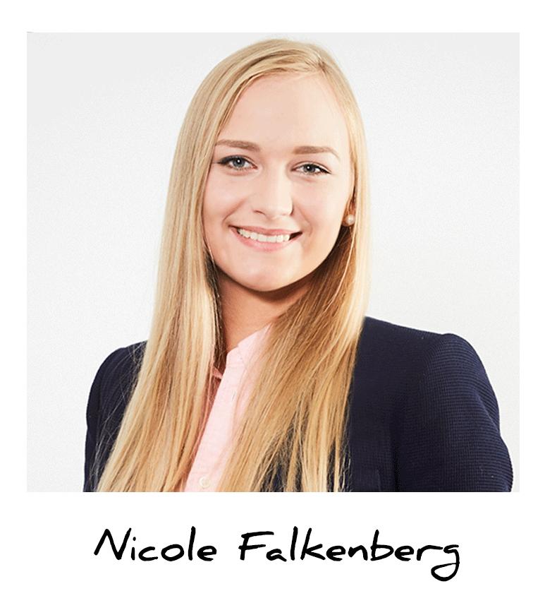 Nicole, Auszubildende Groß- und Außenhandelskauffrau bei Indes Fuggerhaus