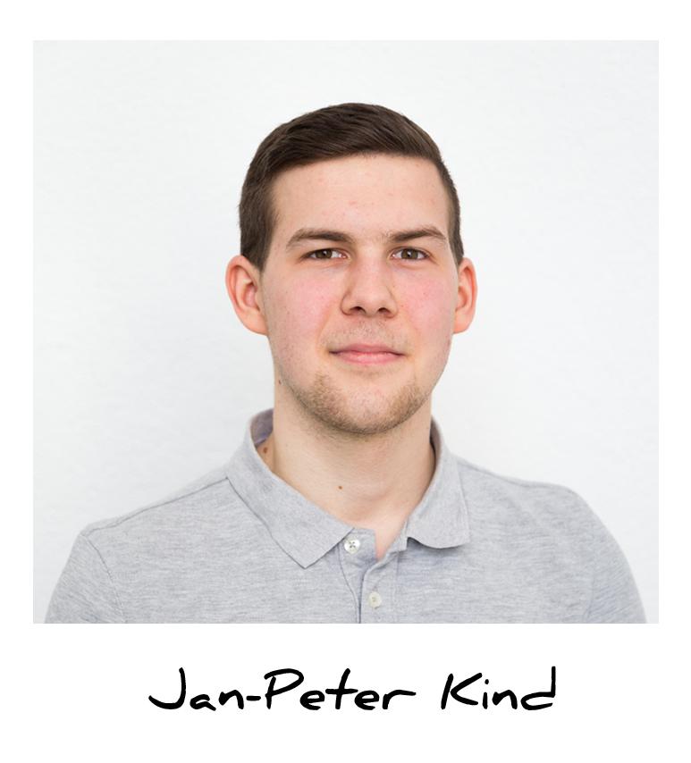 Jan, Auszubildender Kaufmann für Groß - &  Außenhandel