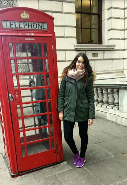 Natalie, Auszubildende Industriekauffrau bei A.S. Créatuion - Auslandspraktikum in London