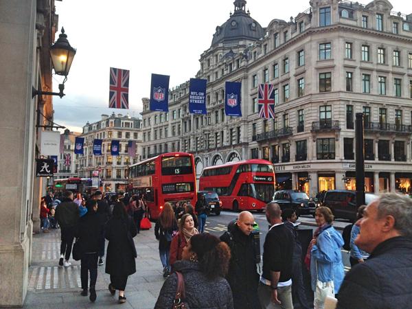 Natalies Auslandpraktikum in London während ihrer Ausbildung bei A.S. Création