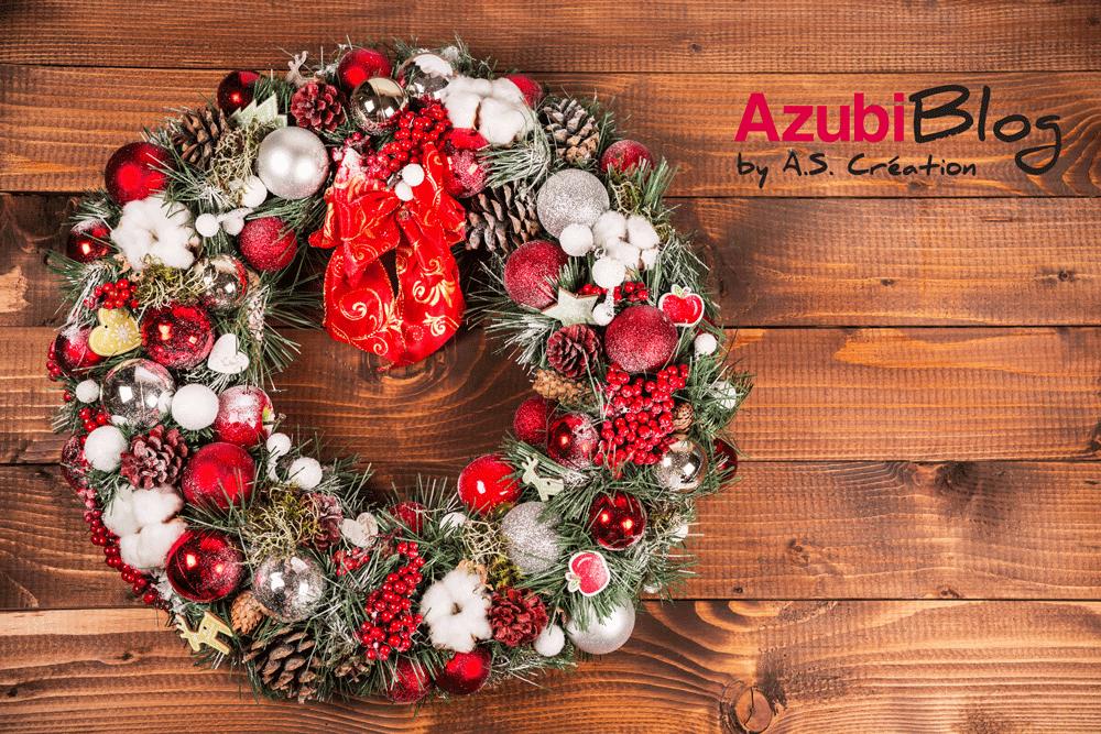 Die Azubis von A.S. Création wünschen frohe Weihnachten!