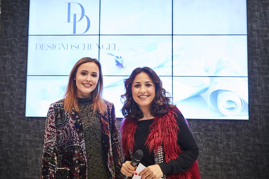 Laura Noltemeyer und Nina Moghaddam auf der Heimtextil 2017