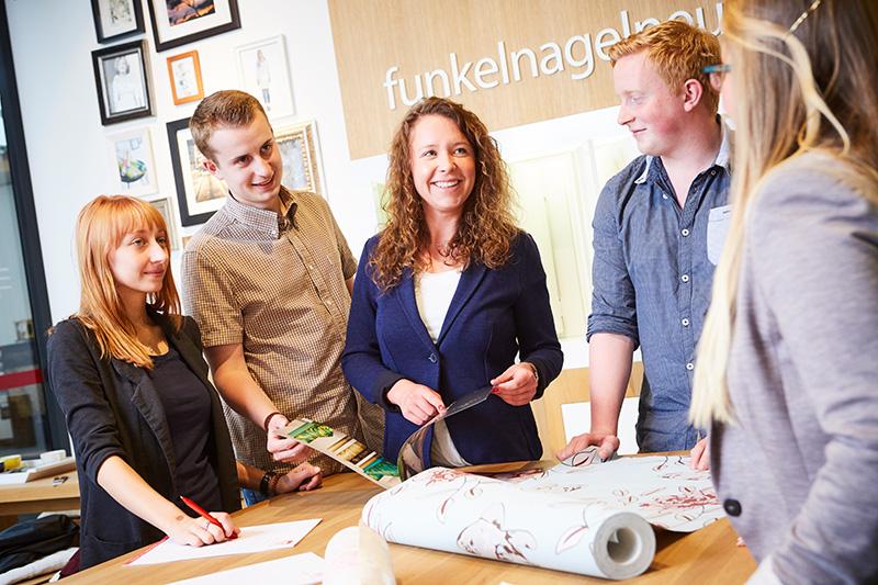 Ausbildung für Kaufleute für Marketingkommunikation bei A.S. Création Tapeten AG