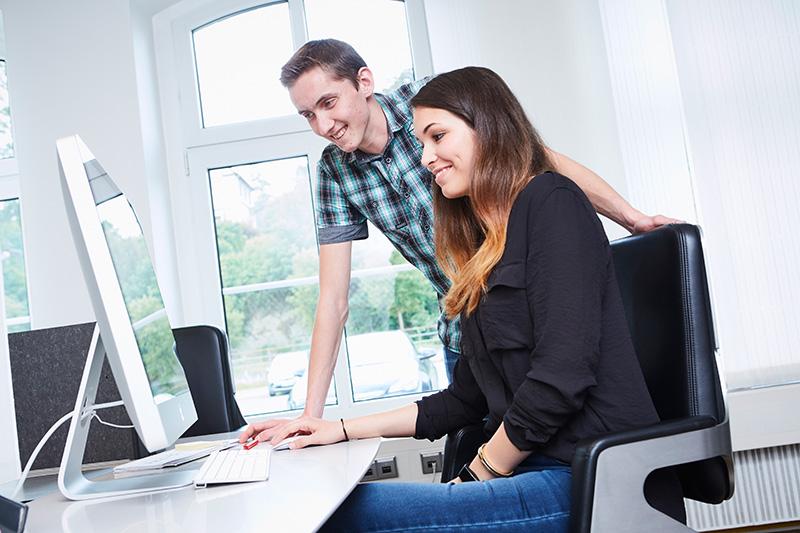 Fachinformatiker für Systemintegration, Ausbildung bei A.S. Création