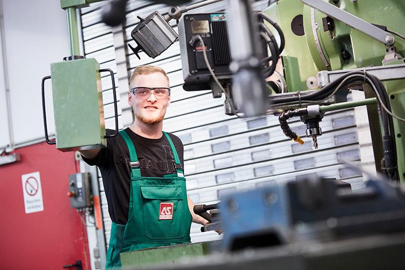 Ausbildung zum Industriemechaniker bei A.S. Création