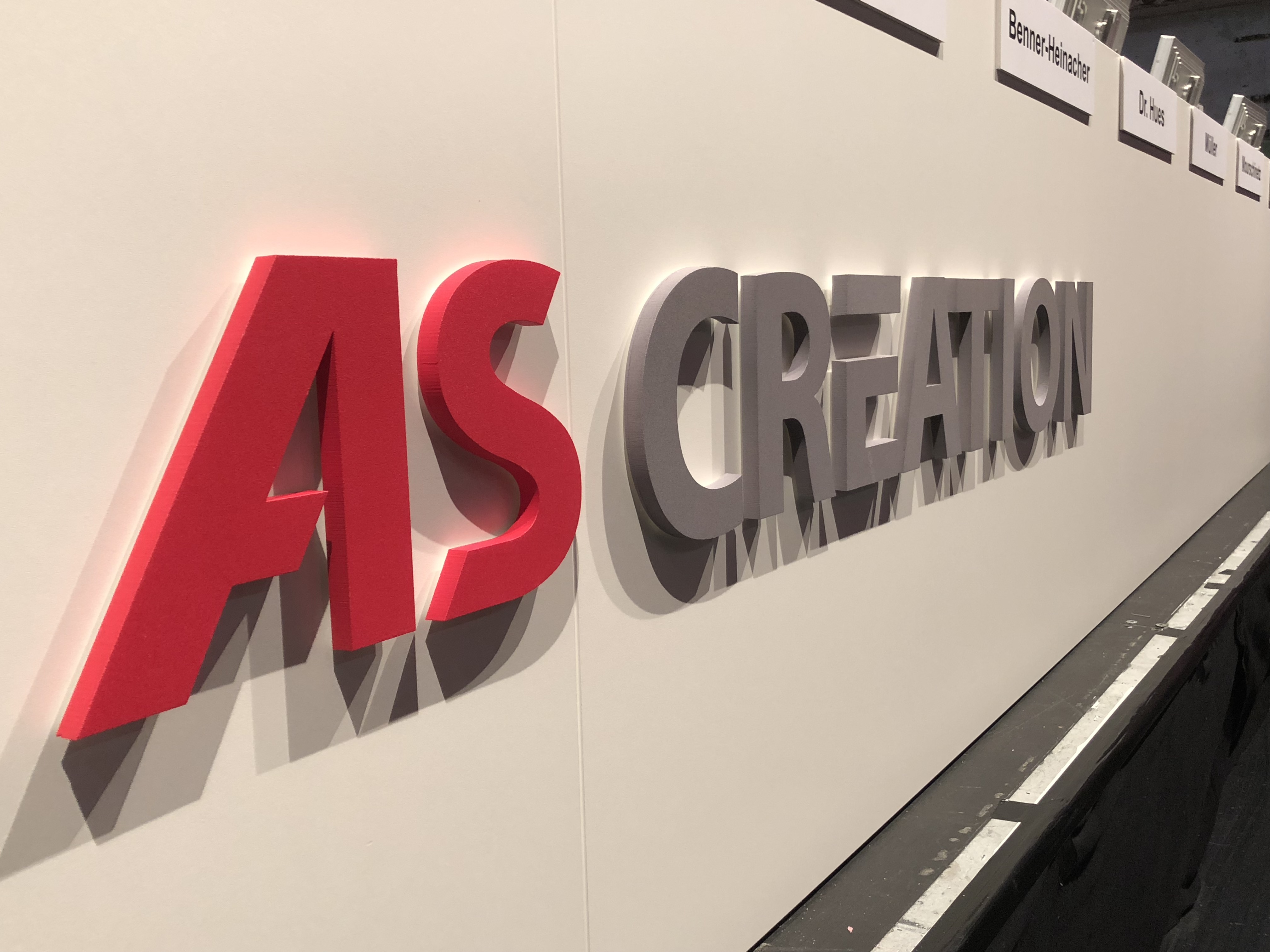 Neues Logo A.S. Creátion - Hauptversammlung 2018